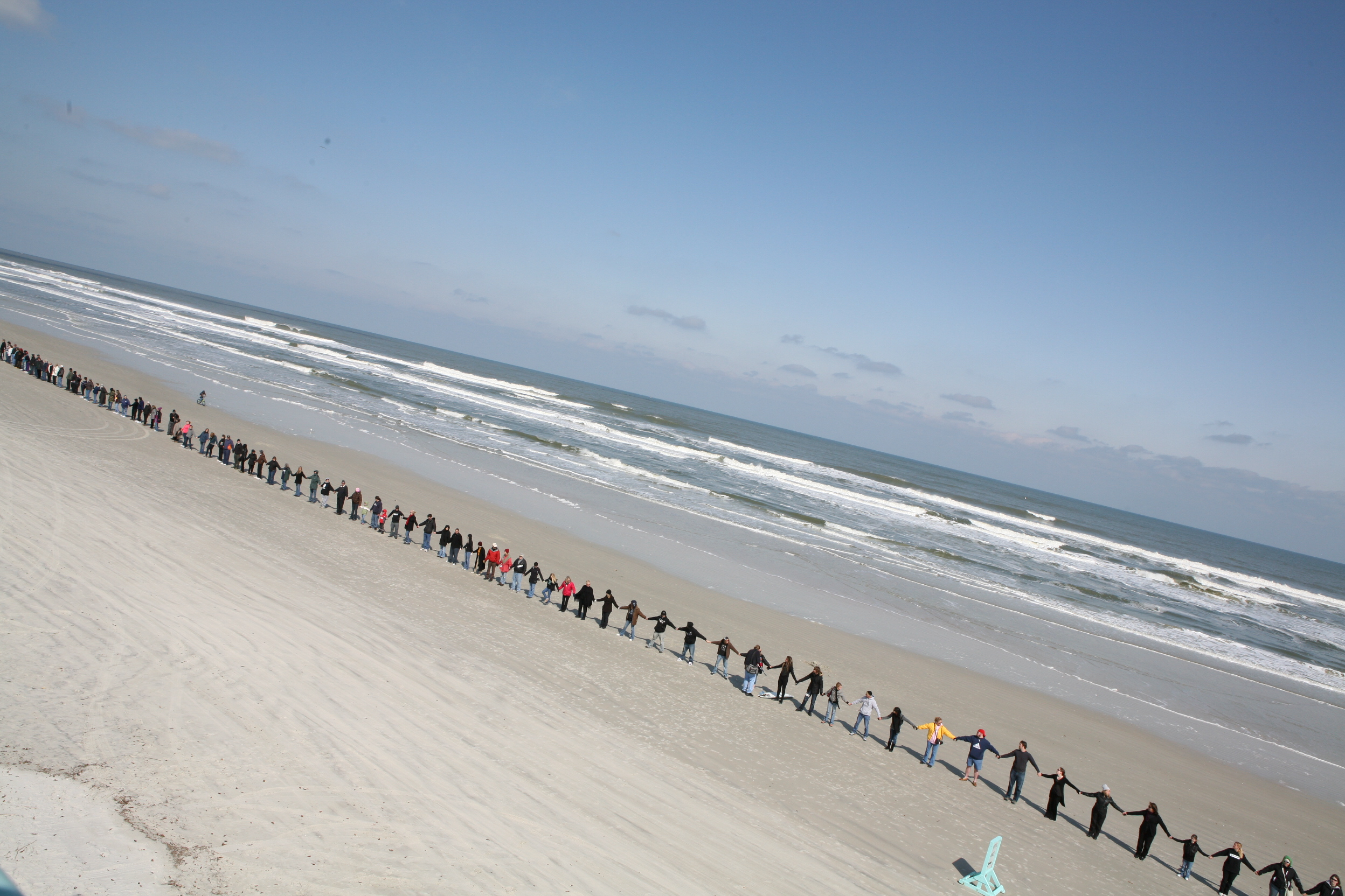 Hands Across the Sand/Land is May 18th!